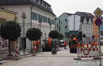 Baustellen sorgen für Ärger in der Innenstadt - Simbach am Inn - Passauer Neue Presse