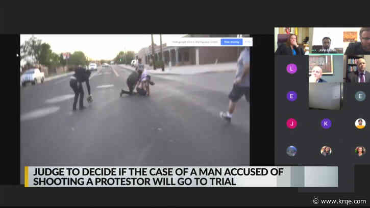 Judge to decide if protest shooting case will go to trial Friday