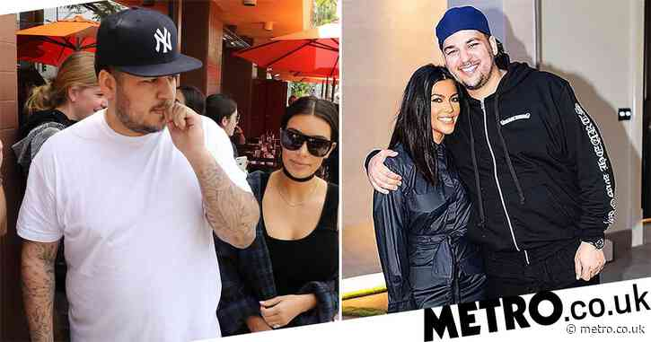 Rob Kardashian 'happier and healthier' after committing to new fitness regime