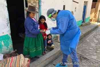Equipos de respuesta rápida covid atienden casa por casa en Ambo, Huánuco - DIARIO AHORA