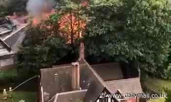 Firefighters tackle blaze at Cadbury Club as smoke seen across Birmingham