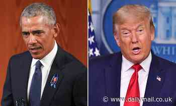 Barack Obama accuses Donald Trump of trying 'kneecap the Post Office' to discourage voting