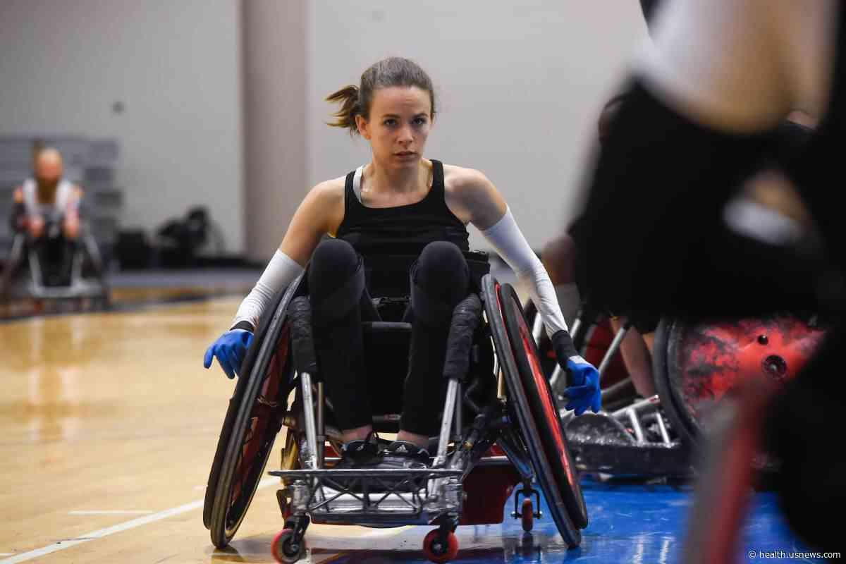 Wheelchair Rugby Player Blazing a New Trail to the Paralympics - U.S. News & World Report