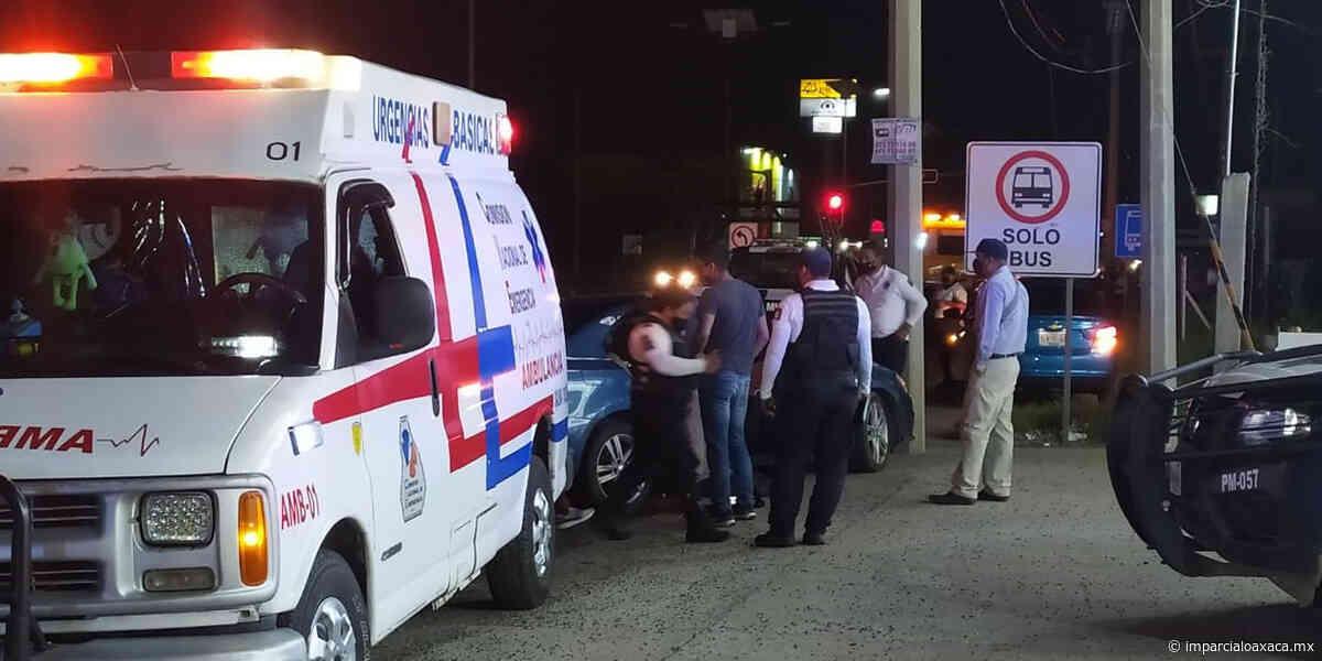 Mujer embarazada resulta lesionada por choque en Salina Cruz - El Imparcial de Oaxaca