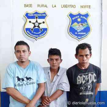 PNC captura a tres terroristas en Ciudad Arce - Diario La Huella