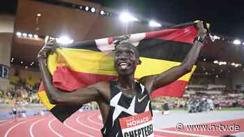 Bestmarke über 5000 Meter: Cheptegei bricht Weltrekord mit Ansage