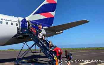 Latam Ecuador reanudará sus vuelos a Manta desde el 24 de agosto