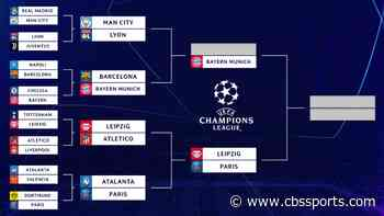 UEFA Champions League bracket, schedule: Bayern Munich knock out Barca, Messi; Manchester City to face Lyon