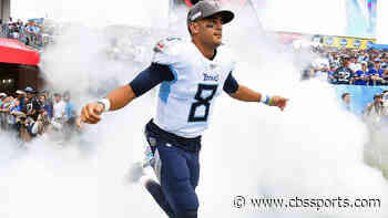 Raiders' Jon Gruden: Marcus Mariota has turned a corner in his recovery and is a 'dazzling playmaker'