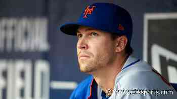 Mets' Jacob deGrom scratched from Friday start vs. Phillies with neck tightness