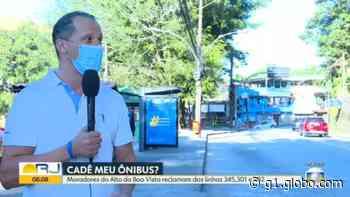 Três linhas de ônibus deixaram de circular no Alto da Boa Vista; Rio soma mais de 150 linhas sumidas - G1