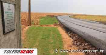 Linhas Boa Vista e Bué-Caé recebem quase 8 km de asfalto de estradas rurais - Toledo News