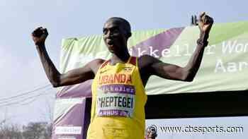 Ugandan distance runner Joshua Cheptegei breaks 5,000m world record record