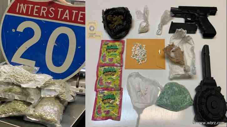 Police: Overnight traffic stops lead to 2 drug busts in Richland, Ouachita