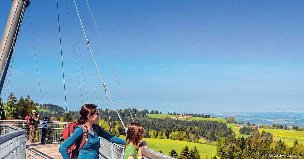 Freitickets für den Skywalk bei Scheidegg im Lostopf - Schwäbische