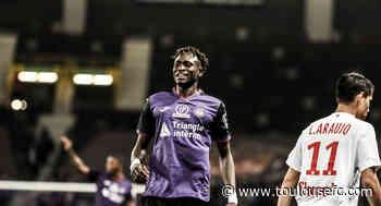 Issiaga Sylla prêté au Racing Club de Lens - Toulouse Football Club