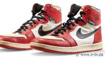 Auktion bringt neuen Weltrekord: Jordan-Schuhe erlösen 615.000 Dollar