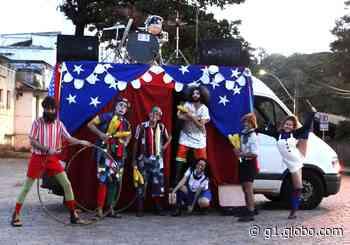 Do próprio quintal, moradores de Presidente Prudente podem conferir as apresentações itinerantes do Circo sobre Rodas - G1
