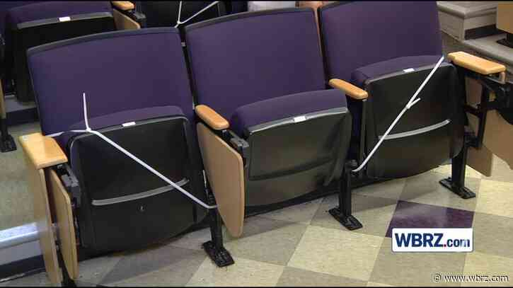 Different look inside LSU classrooms as students prepare for fall return