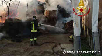 Incendio in un'azienda agricola a Malcontenta di Mira - Il Gazzettino