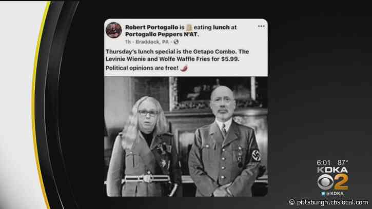 Pittsburgh-Area Restaurant Owner Posts Picture Depicting Gov. Tom Wolf And Health Secretary Dr. Rachel Levine As Nazis