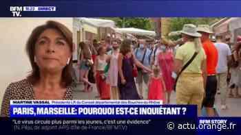 """Marseille: pour Martine Vassal, """"ce n'est pas en mettant des bus en plus qu'on va diminuer la circulation du virus"""" - Actu Orange"""