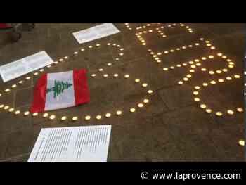 Marseille : la communauté libanaise rassemblée en soutien au peuple de Beyrouth - La Provence