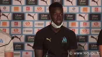 Pape Gueye (OM) : « L'Olympique de Marseille, c'est un rêve de gosse » - Foot - L1 - L'Équipe.fr