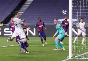 Bayern arrasa Barcelona na Luz - Sol