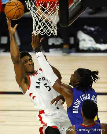 Johnson scores 23 points to help Raptors top Nuggets 117-109 - Midland Daily News