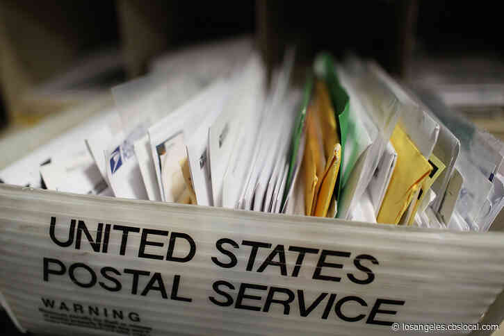 US Postal Service Warns California, 45 Other States On Mail Ballots