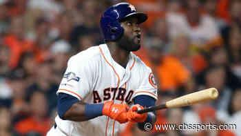 Astros' Yordan Alvarez slugs three-run home run in first at-bat back from COVID-19 IL