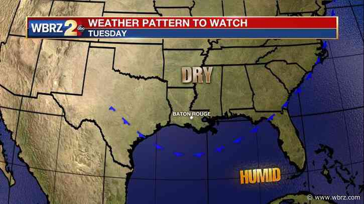 Drying trend after Saturday