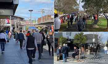 Alarming photos show people ignoring stage four restrictions in Melbourne