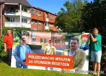 Doppelte Werbung: Wulfener SPD macht aus Wahlplakaten Bewässerungsbeutel - Lokalkompass.de