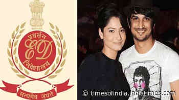 ED claims, 'EMI of a flat where Ankita Lokhande used to stay was deducted from Sushant Singh Rajput's bank account'