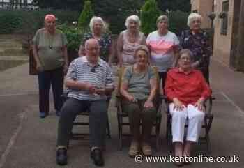 Elderly residents join TikTok in lockdown