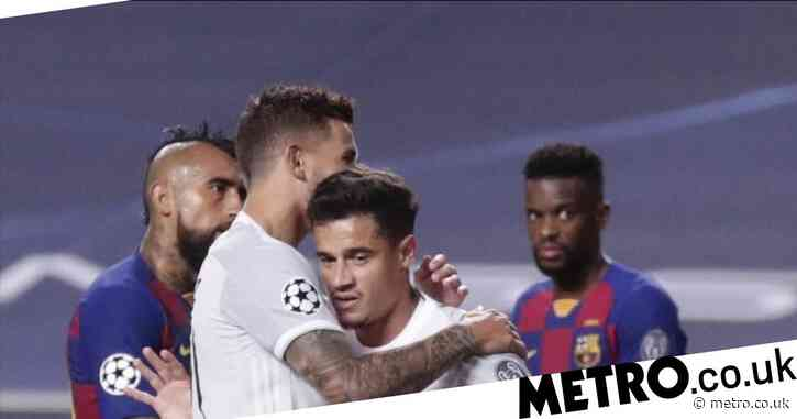 Barcelona must pay Liverpool €5m  if Philippe Coutinho helps Bayern Munich win the Champions League