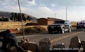 Cisternas con oxígeno quedaron varadas en Mizque - Red Uno