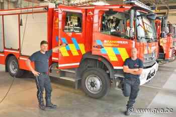 """Brand blussen bij 35 graden is bijna onmenselijk: """"Wij doen alles wat anderen wordt afgeraden"""" - Gazet van Antwerpen"""