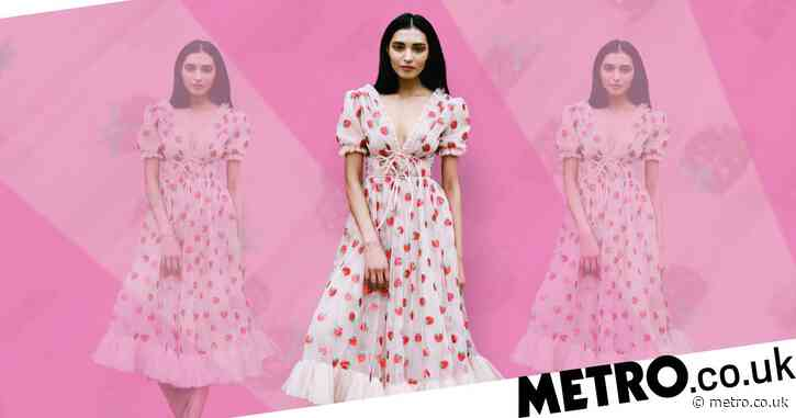 People are obsessed with this £380 strawberry dress – here's how to get the look on the cheap