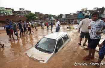 Kota Jaipur India Dilanda Hujan Ekstrem dan Banjir, 3 Orang Tewas - iNews