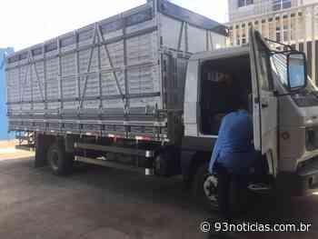 Polícia apreende caminhão com suspeita de adulteração em Itabaiana - 93Notícias