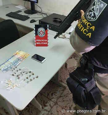 Suspeito de tráfico é detido pela terceira vez com drogas em Itabaiana - PBAGORA - A Paraíba o tempo todo