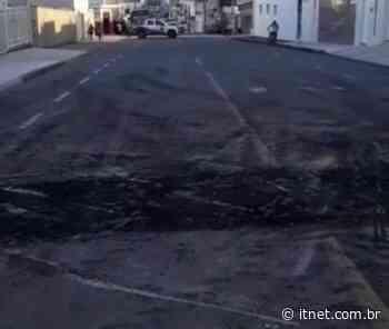 Quebra-molas que ocasionou dois acidentes na Rua Juca Monteiro, em Itabaiana é retirado - Portal Itnet