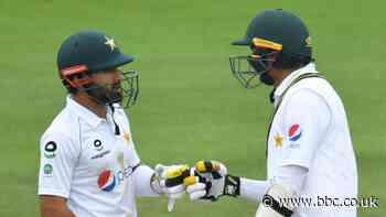England v Pakistan: Mohammad Rizwan & weather frustrate hosts