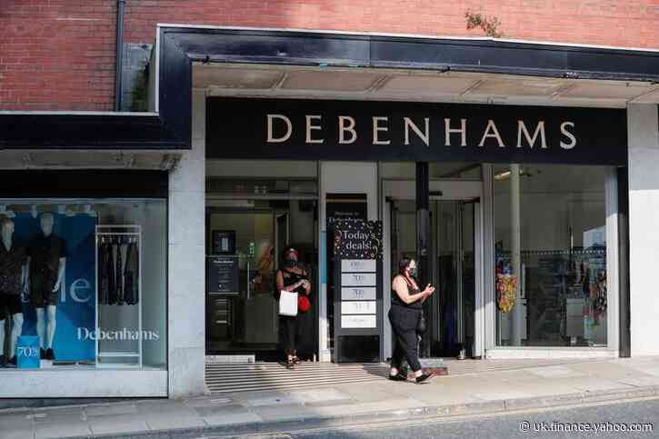 Debenhams appoints advisers to draw up plans for possible liquidation