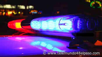 Se registra gran movilización policiaca en el este de El Paso tras aparatoso accidente - Telemundo 48 El Paso