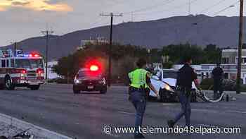 Accidente múltiple en el este de El Paso envía a una persona al hospital - Telemundo 48 El Paso