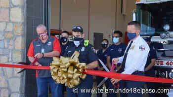 Inauguran estación de bomberos en la comunidad de Horizon - Telemundo 48 El Paso
